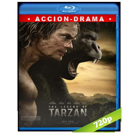 La Leyenda De Tarzan 720p Lat-Cast-Ing 5.1 (2016)