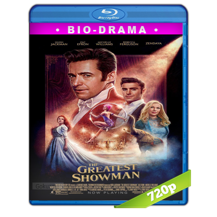 El Gran Showman (2017) BRRip 720p Audio Trial Latino-Castellano-Ingles 5.1