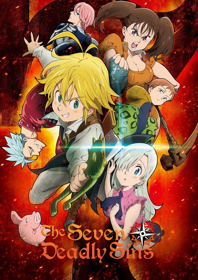 The Seven Deadly Sins | T1 | 24-24 | Dual Audio | 2014