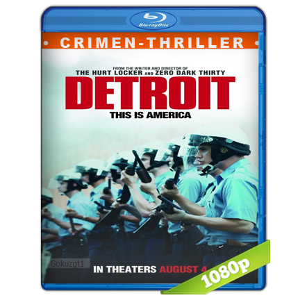 Detroit Zona De Conflicto (2017) BRRip Full 1080p Audio Dual Castellano-Ingles 5.1
