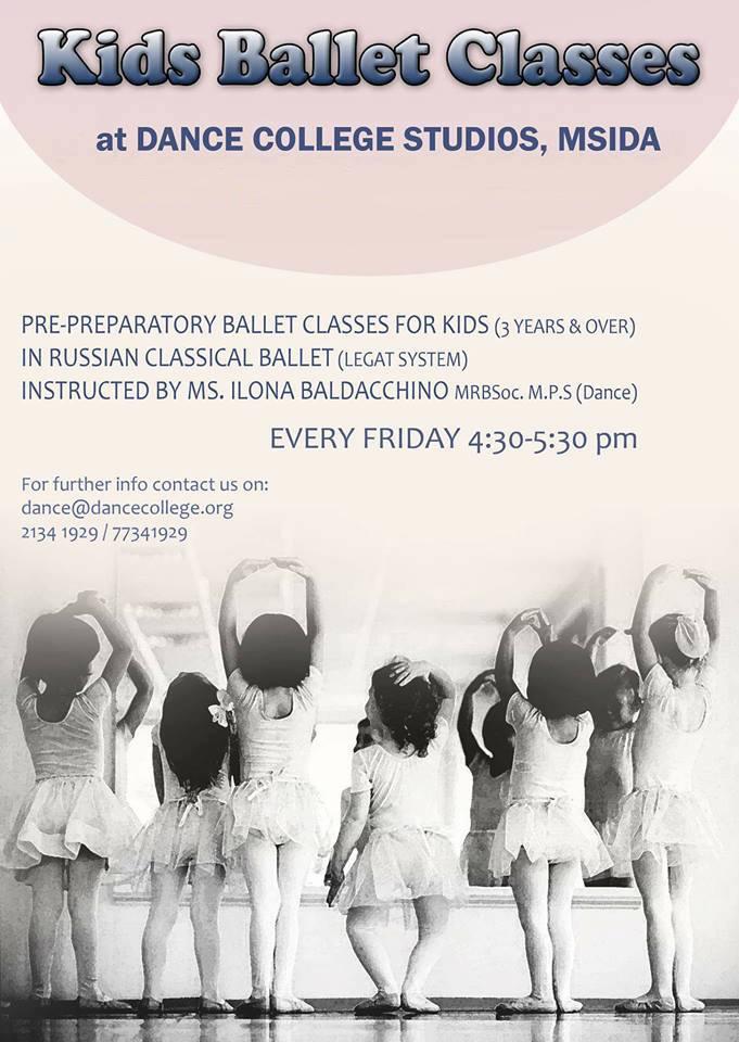 Kids Ballet Malta