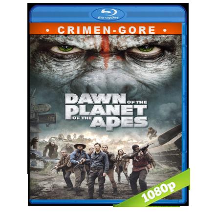 El Planeta De Los Simios Confrontacion (2014) BRRip Full 1080p Audio Trial Latino-Castellano-Ingles 5.1