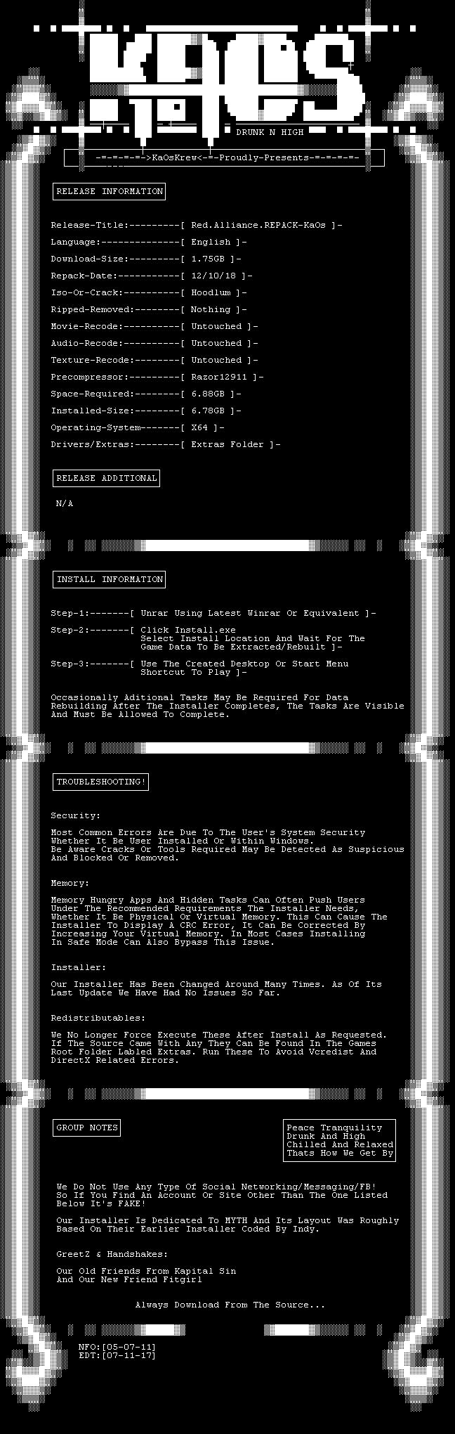 Download Red.Alliance.REPACK-KaOs Torrent