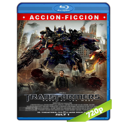 Transformers 3 El Lado Oscuro De La Luna (2011) BRRip 720p Audio Trial Latino-Castellano-Ingles 5.1