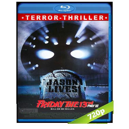 Viernes 13 Parte 6 Jason Vive 720p Lat-Cast-Ing 5.1 (1986)