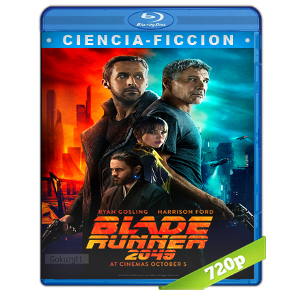 Blade Runner 2049 (2017) BRRip 720p Audio Trial Latino-Castellano-Ingles 5.1