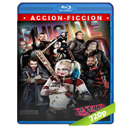 Escuadron Suicida (2016) BRRip 720p Audio Trial Latino-Castellano-Ingles 5.1