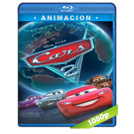 Cars 2 (2011) BRRip Full 1080p Audio Trial Latino-Castellano-Ingles 5.1