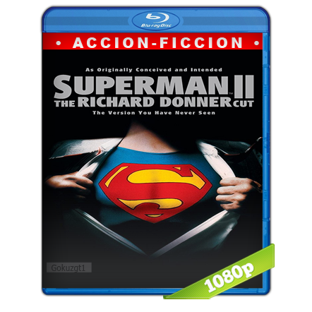 Superman 2 El Montaje De Richard Donner 1080p  Ing-Subs 5.1 (2006)