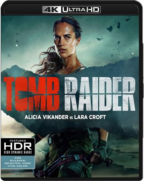 Tomb Raider (2018) MULTi.REMUX.2160p.UHD.Blu-ray.HDR.HEVC.ATMOS7.1-DENDA / LEKTOR, DUBBING i NAPISY PL