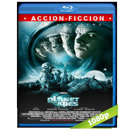 El Planeta De Los Simios (2001) BRRip Full 1080p Audio Trial Latino-Castellano-Ingles 5.1