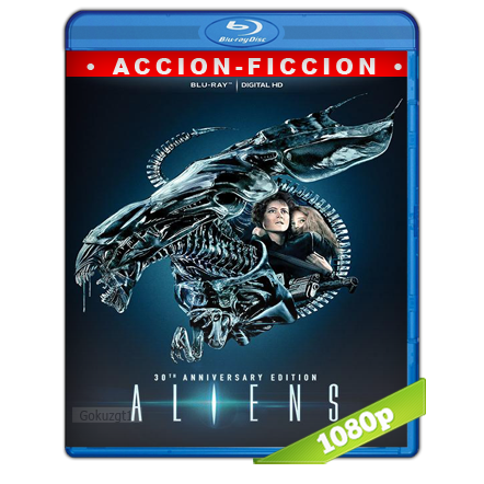 Alien 2 El Regreso (1986) BRRip Full 1080p Audio Trial Latino-Castellano-Ingles 5.1
