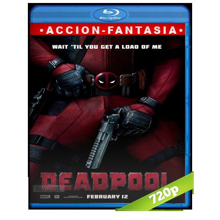 Deadpool (2016) BRRip 720p Audio Trial Latino-Castellano-Ingles 5.1