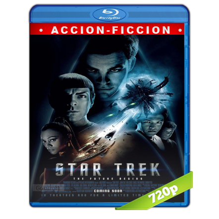 Viaje A Las Estrellas 11 Un Nuevo Comienzo 720p Lat-Cast-Ing 5.1 (2009)