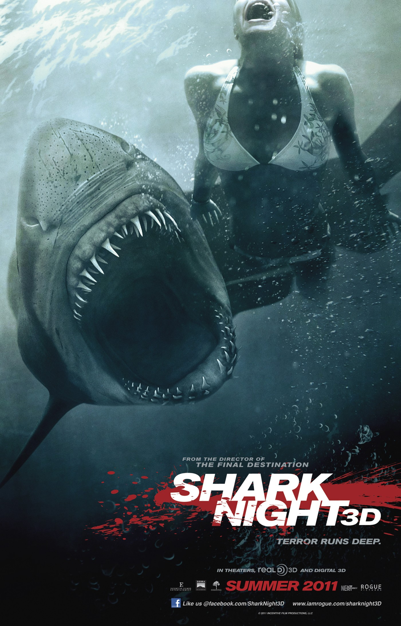 Shark Night 3D [Tiburón 3D: La Presa] 720p