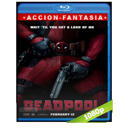 Deadpool (2016) BRRip Full 1080p Audio Trial Latino-Castellano-Ingles 5.1