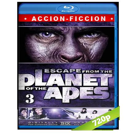 Escape Del Planeta De Los Simios (1971) BRRip 720p Audio Trial Latino-Castellano-Ingles 5.1