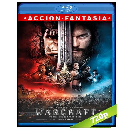Warcraft El Primer Encuentro De Dos Mundos (2016) BRRip 720p Audio Trial Latino-Castellano-Ingles 5.1