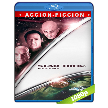Viaje A Las Estrellas 10 Nemesis (2002) BRRip Full 1080p Audio Trial Latino-Castellano-Ingles 5.1
