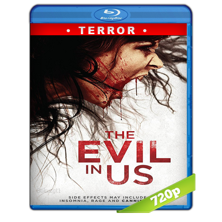 The Evil in Us (2016) BRRip 720p Audio Trial Latino-Castellano-Ingles 5.1