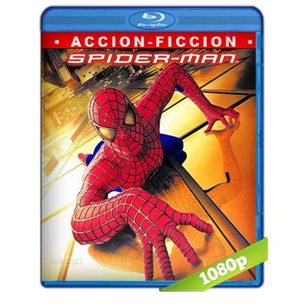 El Hombre Araña 1 (2002) BRRip Full 1080p Audio Trial Latino-Castellano-Ingles 5.1