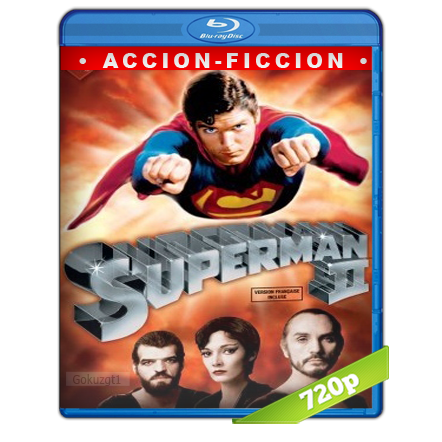 Superman 2 (1980) BRRip 720p Audio Trial Latino-Castellano-Ingles 5.1
