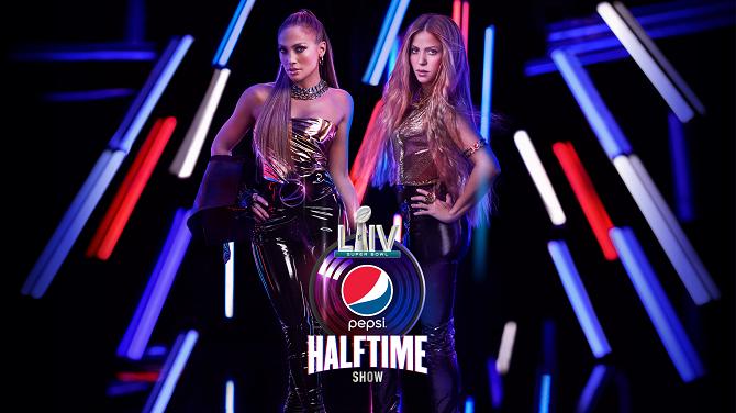 Shakira Jennifer Lopez - Pepsi Super Bowl Halftime Show