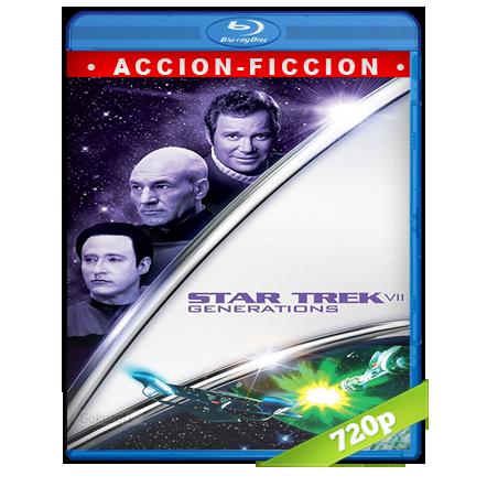 Viaje A Las Estrellas 7 Generaciones (1994) BRRip 720p Audio Trial Latino-Castellano-Ingles 5.1