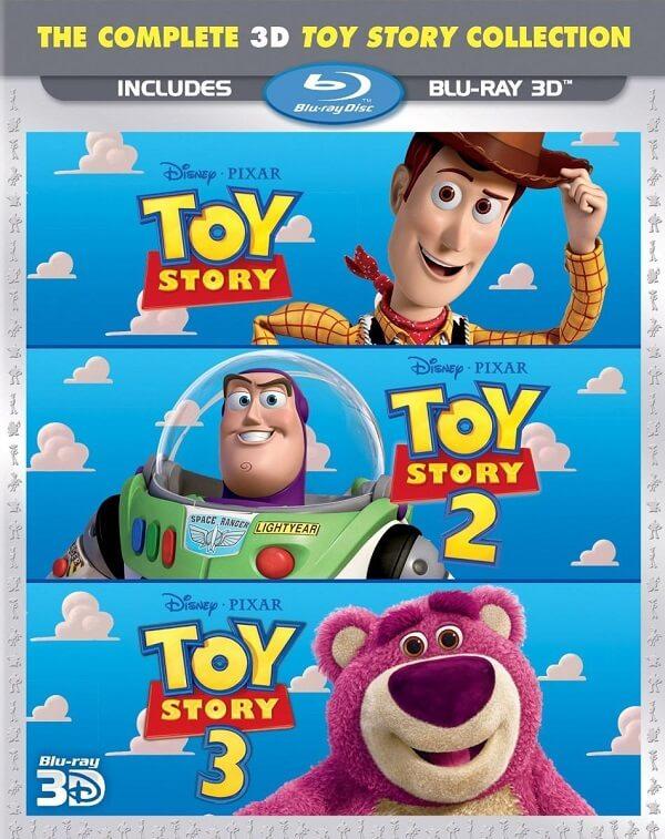 Toy Story Trilogía 720p Latino