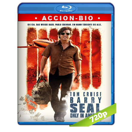 Barry Seal Solo En America (2017) BRRip 720p Audio Trial Latino-Castellano-Ingles 5.1