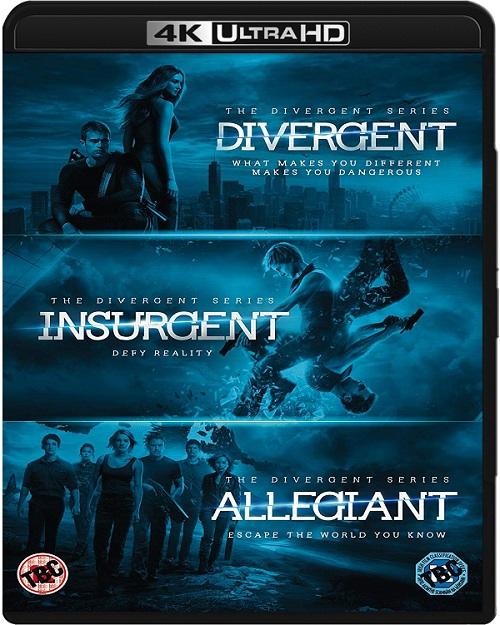 Seria Niezgodna / The Divergent Series (2014-2016) MULTi.REMUX.2160p.UHD.Blu-ray.HDR.HEVC.ATMOS7.1-DENDA / LEKTOR i NAPISY PL