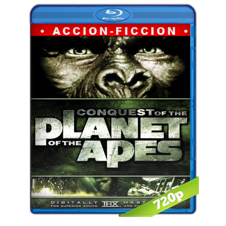 La Conquista Del Planeta De Los Simios (1972) BRRip 720p Audio Trial Latino-Castellano-Ingles 5.1