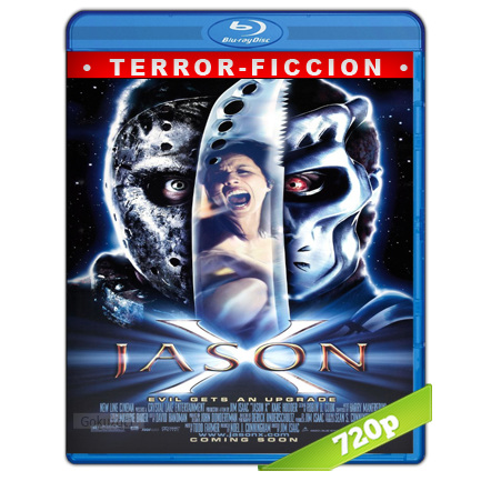 Viernes 13 Parte 10 Jason X (2001) BRRip 720p Audio Trial Latino-Castellano-Ingles 5.1