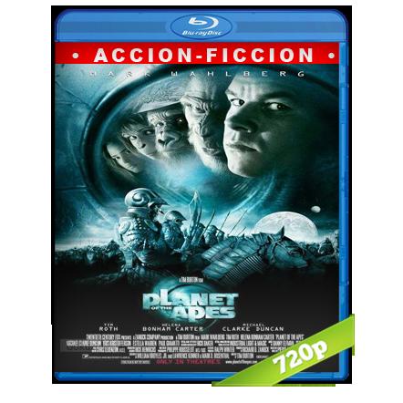 El Planeta De Los Simios (2001) BRRip 720p Audio Trial Latino-Castellano-Ingles 5.1