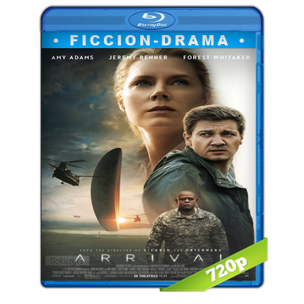 La Llegada 720p Lat-Cast-Ing 5.1 (2016)