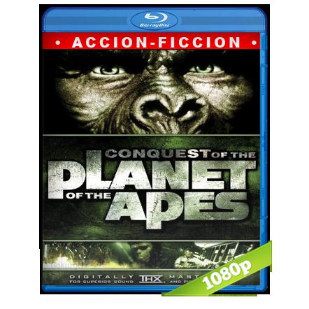 La Conquista Del Planeta De Los Simios (1972) BRRip Full 1080p Audio Trial Latino-Castellano-Ingles 5.1