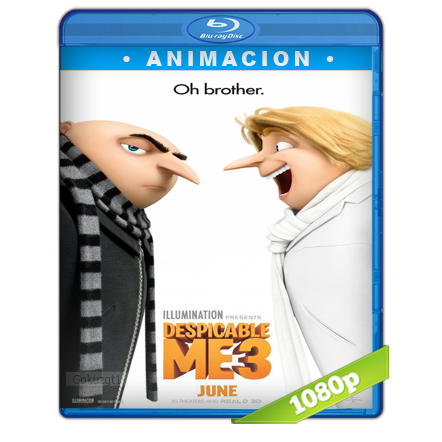 Mi Villano Favorito 3 (2017) BRRip Full 1080p Audio Trial Latino-Castellano-Ingles 5.1