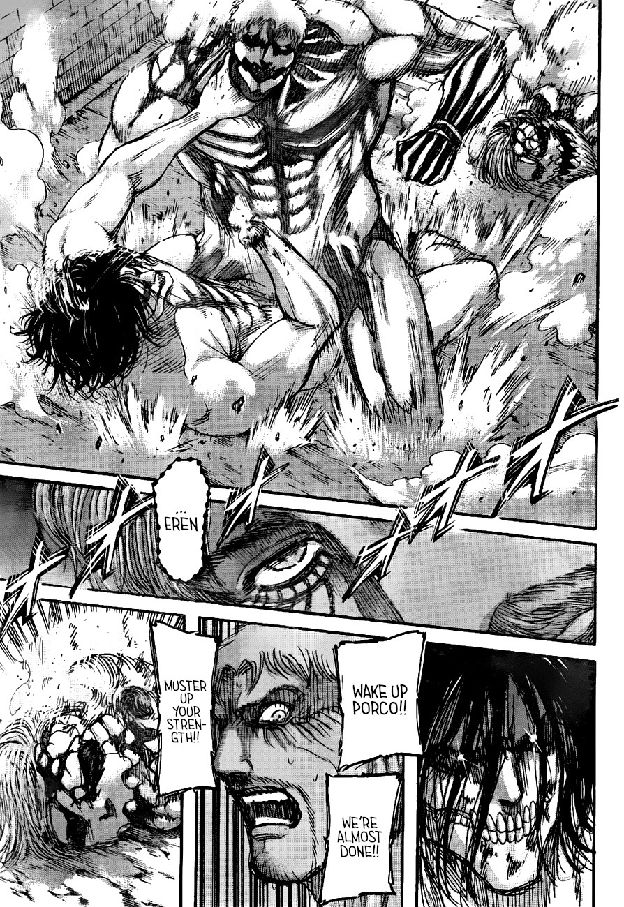 Attack On Titan Chap 119 - Next Chap 120