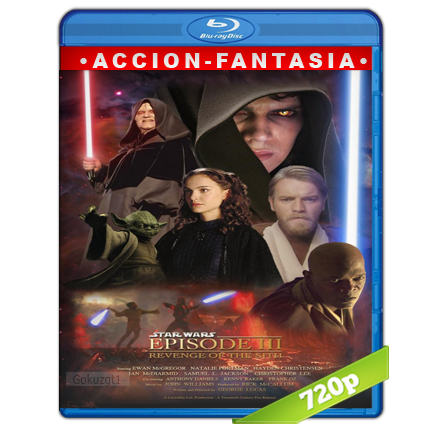 Star Wars Episodio III La Venganza De Los Sith (2005) BRRip 720p Audio Trial Latino-Castellano-Ingles 5.1