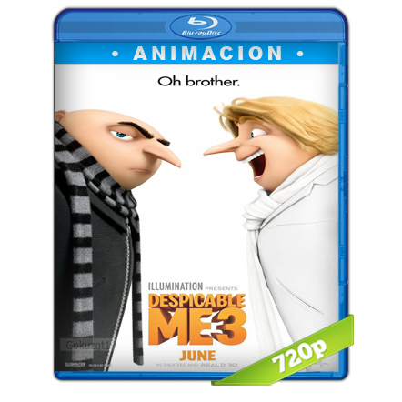 Mi Villano Favorito 3 (2017) BRRip 720p Audio Trial Latino-Castellano-Ingles 5.1