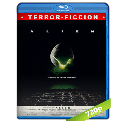 Alien 1 El Octavo Pasajero (1979) BRRip Full 1080p Audio Trial Latino-Castellano-Ingles 5.1