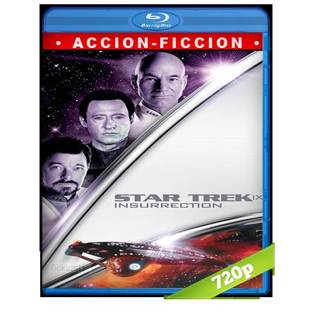 Viaje A Las Estrellas 9 Insurreccion (1998) BRRip 720p Audio Trial Latino-Castellano-Ingles 5.1
