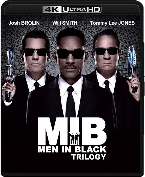Faceci w czerni / Men in Black (1997-2012) TRILOGY.MULTi.REMUX.2160p.UHD.Blu-ray.HDR.HEVC.ATMOS7.1-DENDA / LEKTOR i NAPISY PL