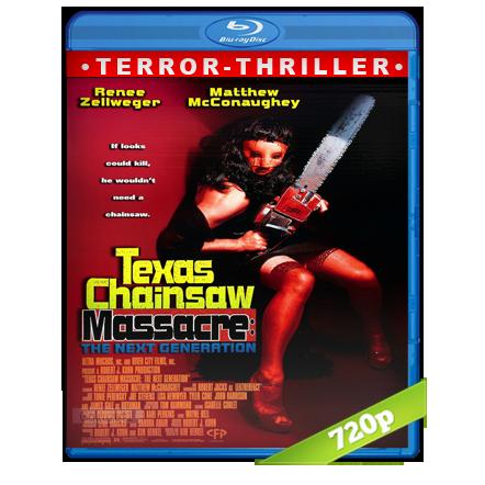 La Masacre De Texas 4 La Nueva Generacion (1994) BRRip 720p Audio Trial Latino-Castellano-Ingles 5.1