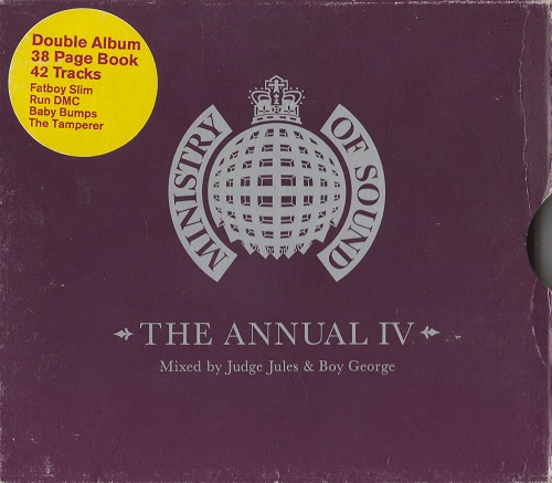 VA - Ministry Of Sound - The Annual IV (Mixed By Judge Jules & Boy George 2CD) [1998]