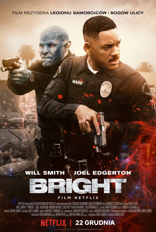 Bright (2017) PL REPACK 1080p WEB x264-J / Lektor PL