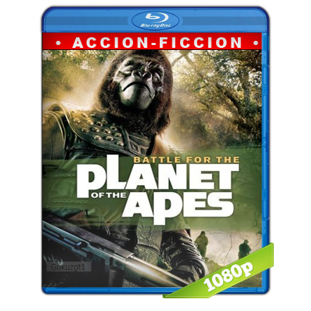 La Batalla Por El Planeta De Los Simios (1973) BRRip Full 1080p Audio Trial Latino-Castellano-Ingles 5.1