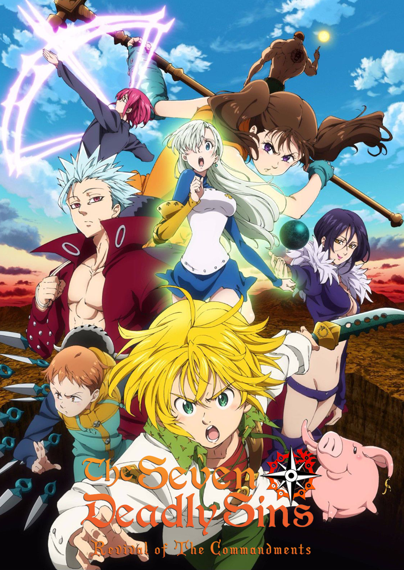 The Seven Deadly Sins RTC | T2 | 24-24 | Dual Audio | 2018