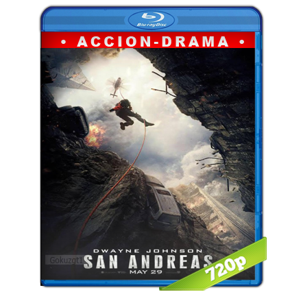 Terremoto La Falla De San Andres (2015) BRRip 720p Audio Trial Latino-Castellano-Ingles 5.1