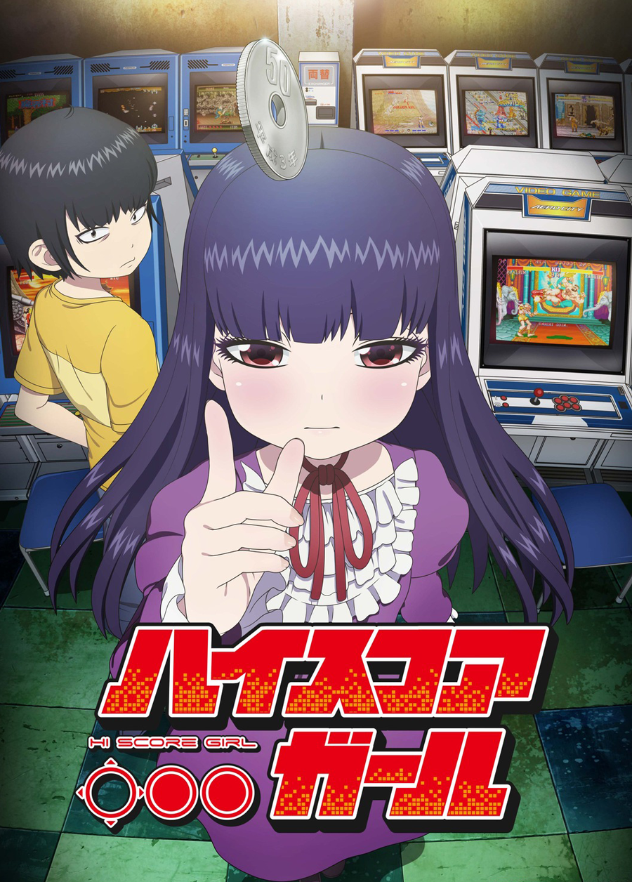 Hi Score Girl | T1 | 12-12 | Dual Audio | 2018
